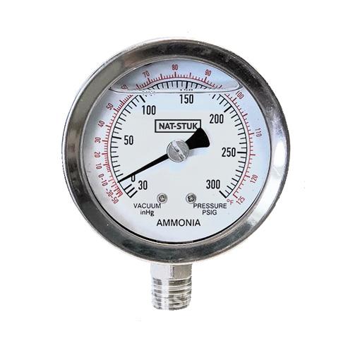 Nat-Stuk Ammonia Pressure Gauge