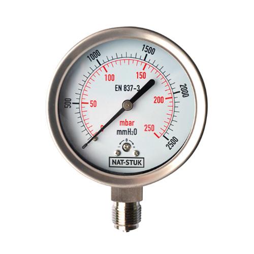 Nat-Stuk Capsle Pressure Gauge