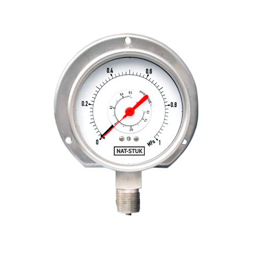 Nat-Stuk Differential Pressure Gauge