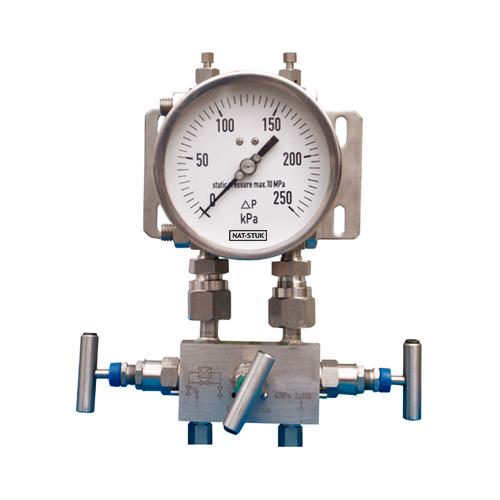 Nat-Stuk High Steady Differential Pressure Gauge