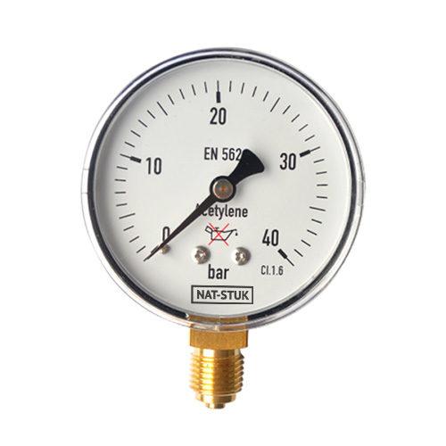 Oil Free Pressure Gauge