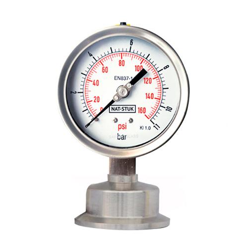 Nat-Stuk Sanitary Diaghragm Pressure Gauge