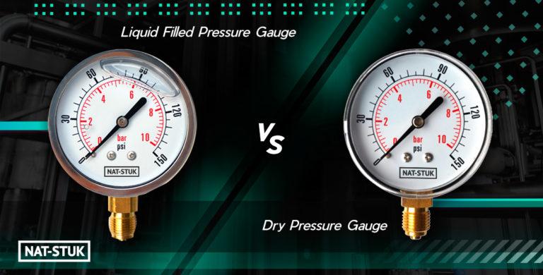 Liquid-Filled vs Dry Pressure Gauge