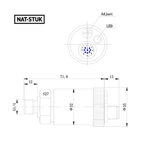 Nat-Stuk Electronic Pressure Switch 3