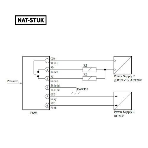 Nat-Stuk Electronic Pressure Switch 5
